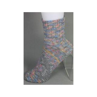 Handgestrickte Socken Gr 34/35 mit Baumwolle