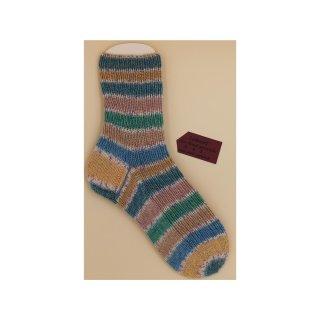 Handgestrickte Socken Etude color Gr. 38/39