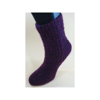 Handgestrickte Socken Air Gr 36/37
