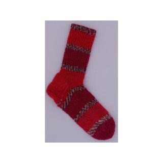 Handgestrickte Socken LeMans Gr.34/35