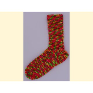 Handgestrickte Socken OnLine Gr. 32/33