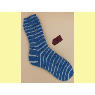 Socken handgestrickt Nautic Gr. 44/45