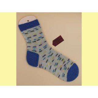 Handgestrickte Socken OBLAKA Gr. 44/45