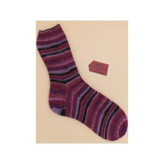 Handgestrickte Socken Aurelia Gr 42/43
