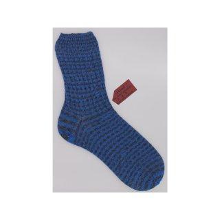 Handgestrickte Socken Cube in Größe 46/47 für Herren